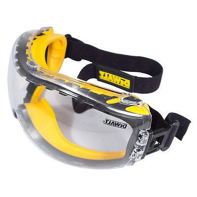 RADIANS SAFETY GLASSES GOGGLES DEWALT CONCEALER CLEAR DPG82-