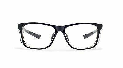 Radiation Glasses in Black Rectangular Hipster Frame with High