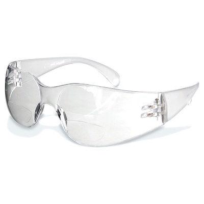 Rugged Blue Reader Safety Glasses - Clear- 1.5 Dopter