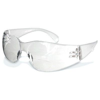 reader safety glasses clear 1 pair 2