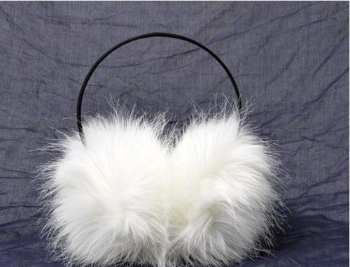 real rabbit fur ear muff