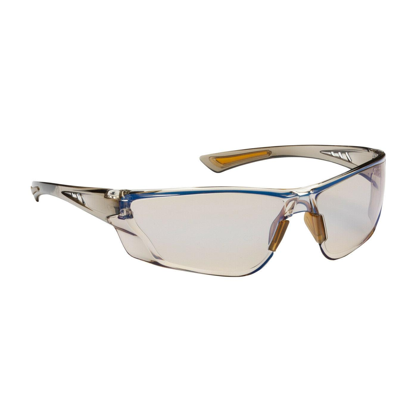 recon safety glasses brown temple indoor outdoor