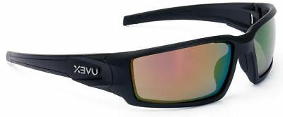 Uvex By Honeywell Red Mirror Safety Glasses, Scratch-Resista