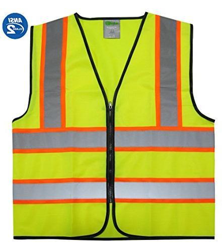 reflective safety vest trim