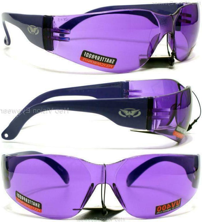 Global Vision Rider Color Safety Sunglasses Z87+