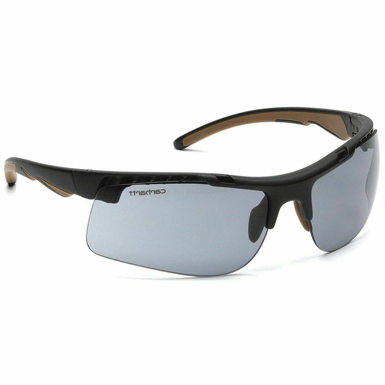 rockwood safety glasses black frames and gray