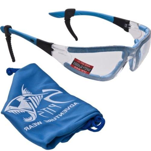 Ruthless Foam Safety Glasses
