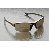 Elvex RX-350BR Sonoma Brown Polycarbonate BiFocal Safety / F