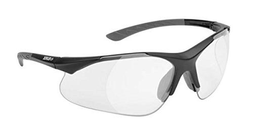 Elvex RX-500C-0.5 Full Lens Safety/Reading Glasses Clear Bal