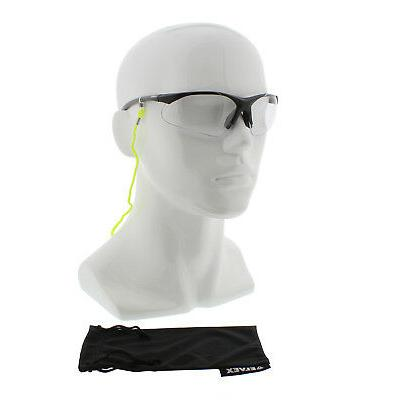 Elvex RX-500C-.50 Diopter Safety Glasses w/ SGB-5 Bag and SG