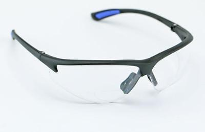 Elvex Bifocal Glasses Clear Lens to