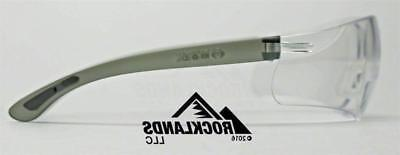 Elvex RX450™ Safety/Reading Glasses Clear 1.5,2.0,2.5 Z87.1