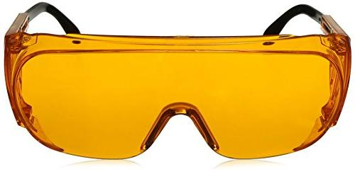 Uvex S0360X Safety Eyewear, SCT-Orange UV Lens