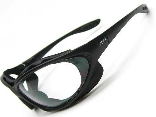 UVEX S0600 Black Clear Safety