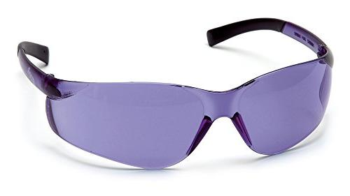 Pyramex S2565S Ztek Safety Glasses Purple Haz Frame w/Purple