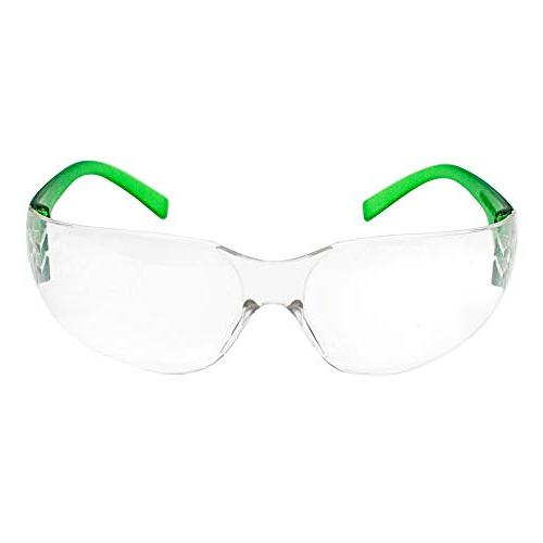 SAFE Kids Safety Glasses and Ballistic Resistant Clear Polycarbonate Temple,
