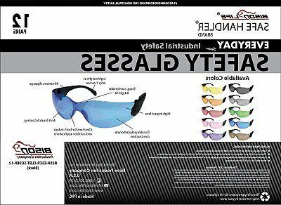 SAFE Glasses, Color Black Temple