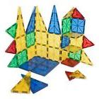 Jolly Mags 32 pcs set clear color magnetic tiles 3D building