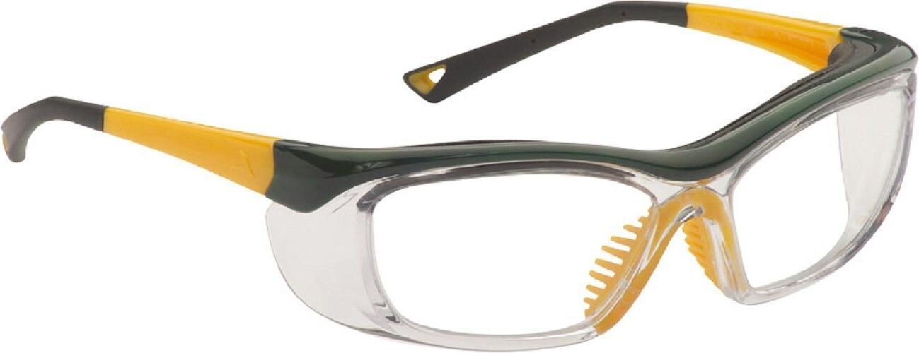 OnGuard Safety Eyewear OG-220S Green / Yellow Glasses 58-15-