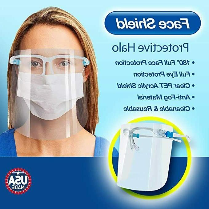 5-1000 Safety Face Shield Wearing Face