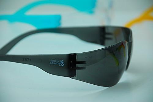 Safety Compliant Protective Wraparound Shooting Glasses Glasses Protection UV Protectant