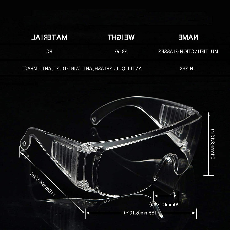 Safety Protective Eyewear, One