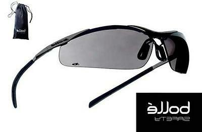 safety glasses contour gray lens metal frame