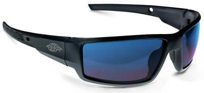 safety glasses cumulus blue mirror