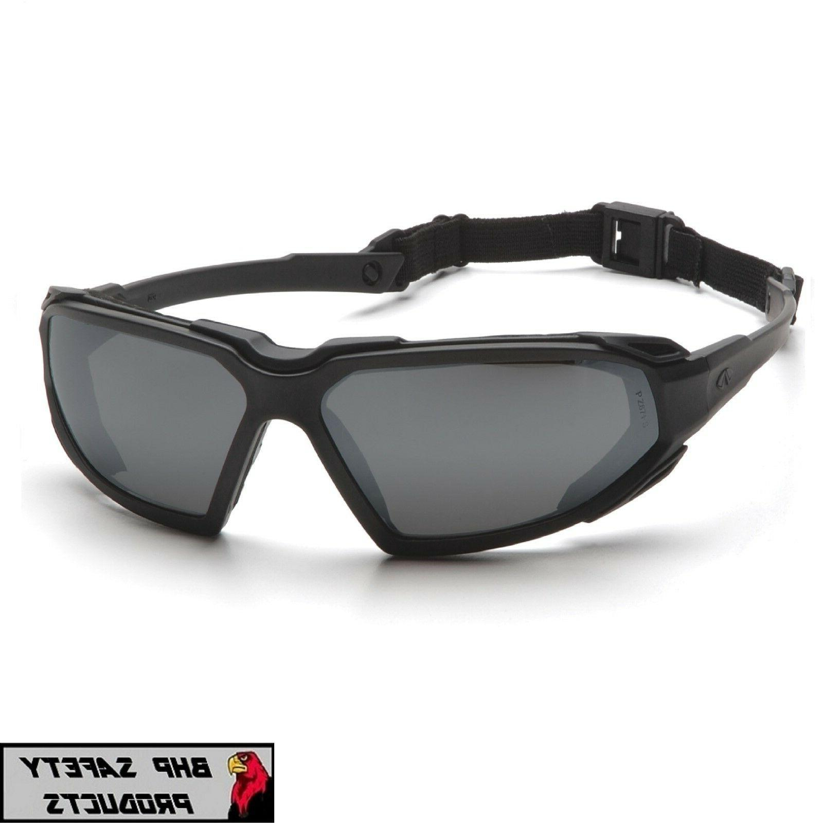PYRAMEX HIGHLANDER SAFETY GLASSES GRAY ANTI-FOG LENS WORK SU