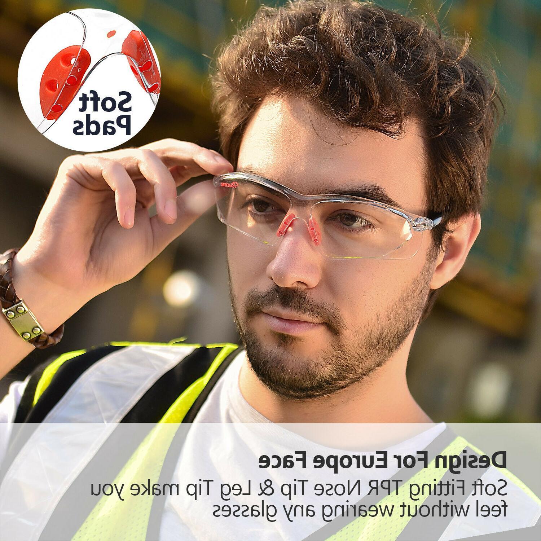 SAFEYEAR Glasses Scratch-resistant Eye Neck Z87+