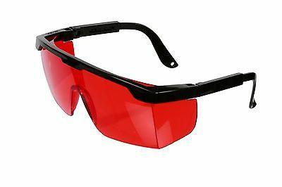 safety glasses red lense ansi