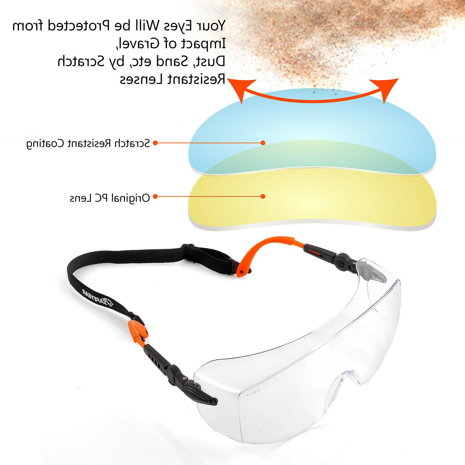 SAFEYEAR Safety Overglasses Industrial Pro Over Cover