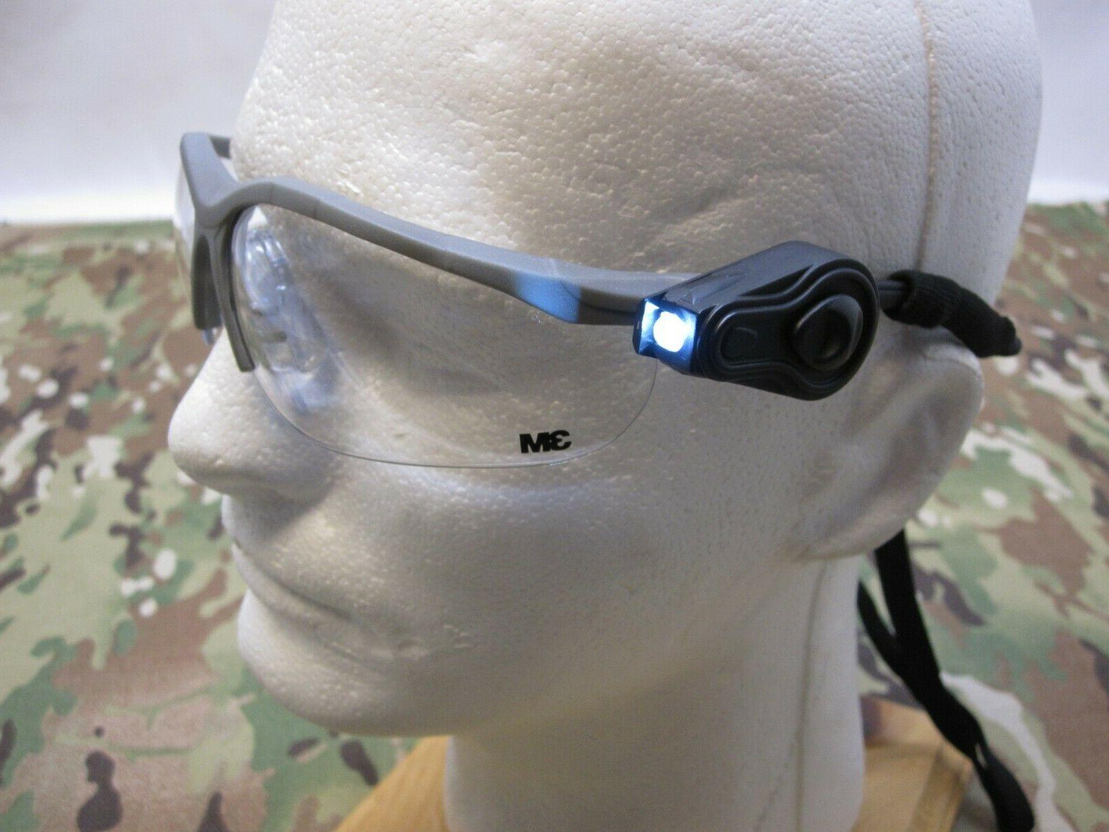 3M SAFETY LED FLASHLIGHTS EYEWEAR