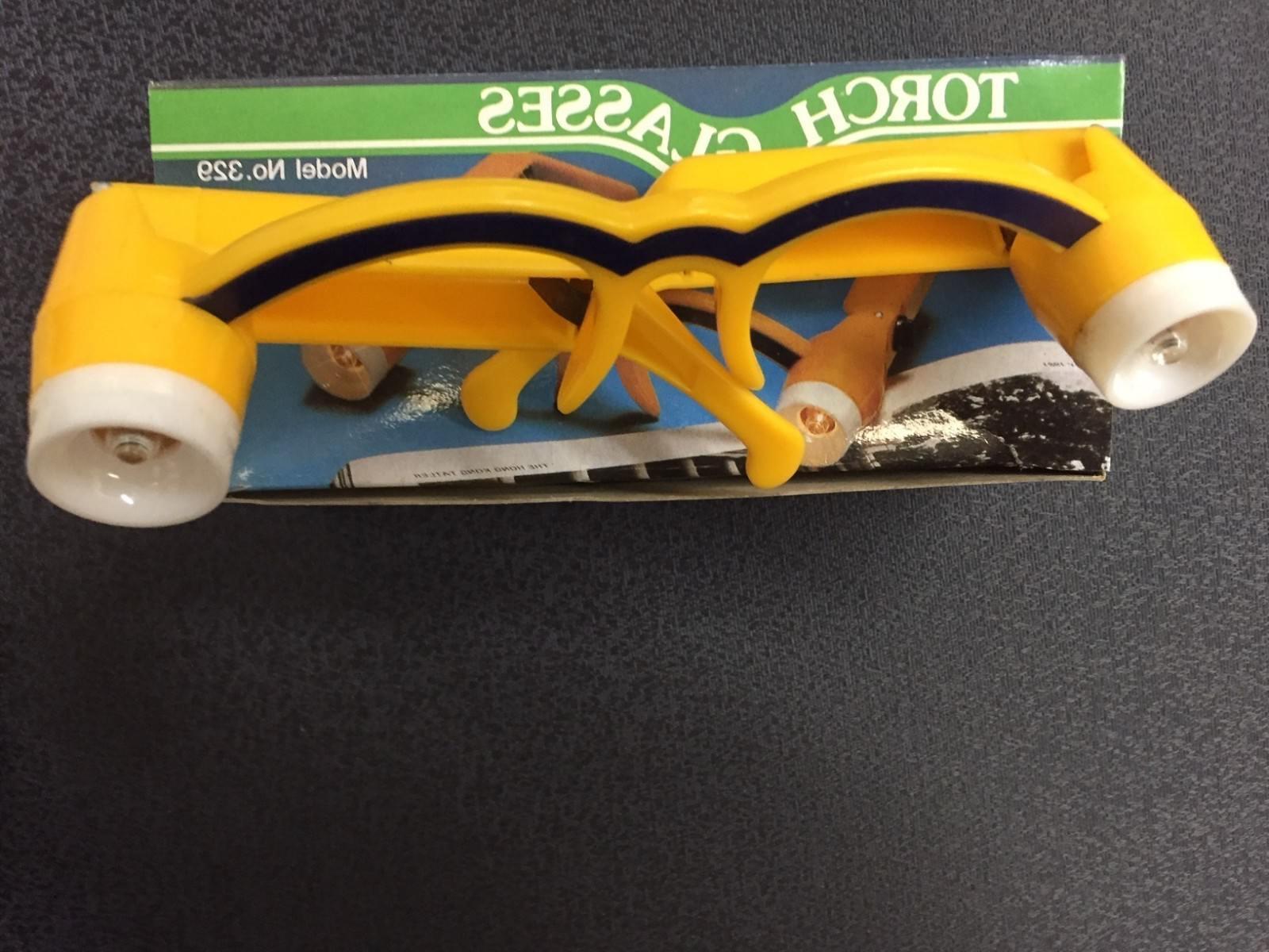 Safety Glasses High NO TORCH Flashlight