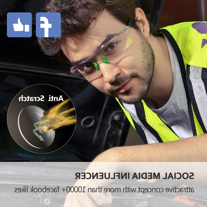 Safeyear Safety Glasses Work Lens Neck GN