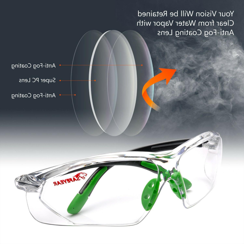 Safeyear Glasses Work Anti-Fog Lens Neck GN