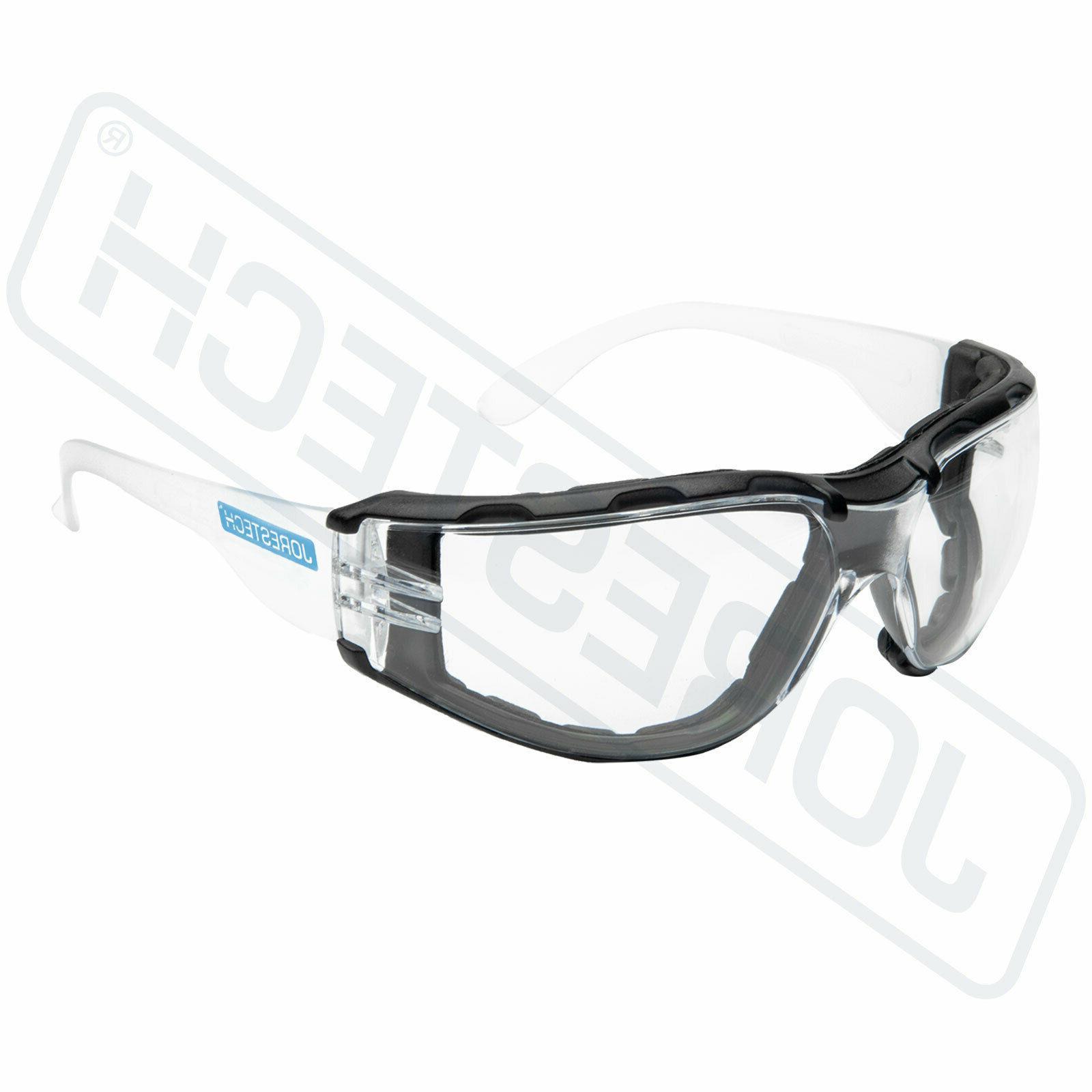 Safety Clear Fog Z87+ JORESTECH