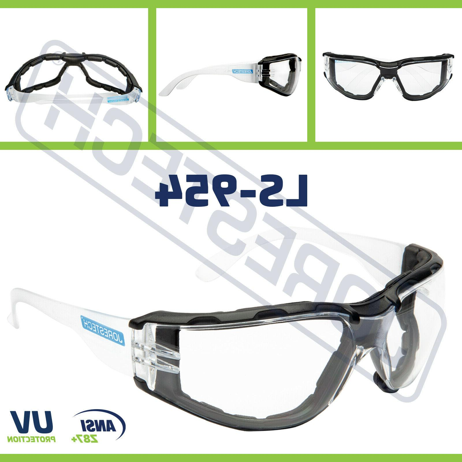 safety goggles clear anti fog scratch resistant