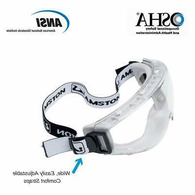 AMSTON Safety Glasses Anti-Fog Eye Protection ANSI Z87.1 Bulk Qty
