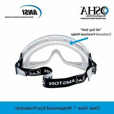 AMSTON Anti-Fog ANSI Z87.1 Qty Avail