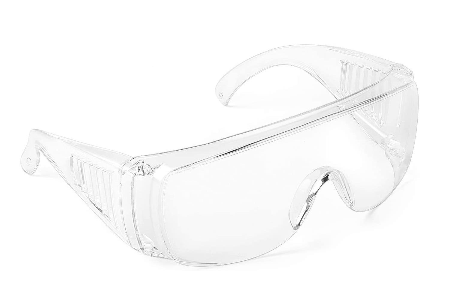 Clear Safety Anti Fog Goggles Glasses for Work Lab Outdoor E