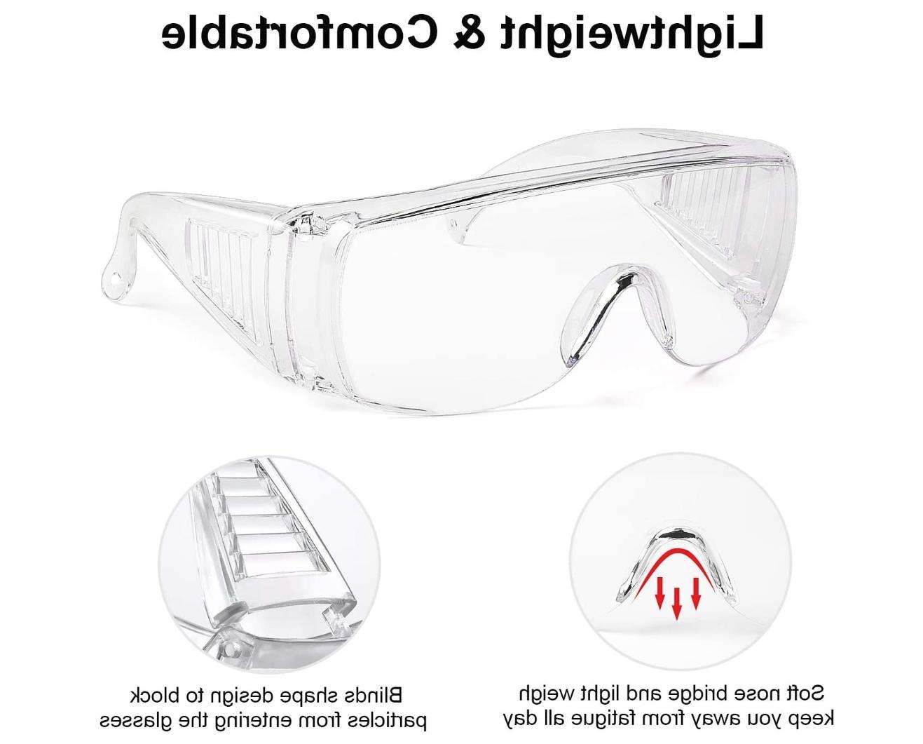 Safety Lab Eyewear Clean STOCK