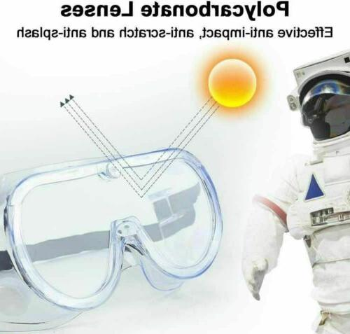 Safety Goggles Glasses Lab Eyewear US STOCK