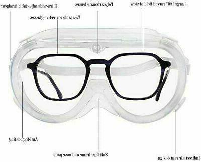 Safety Lab Work Eyewear Clear Lens STOCK