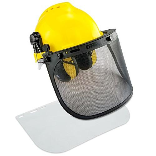 Professional Safety Helmet | 4-in-1 Construction Hard Hat Ea