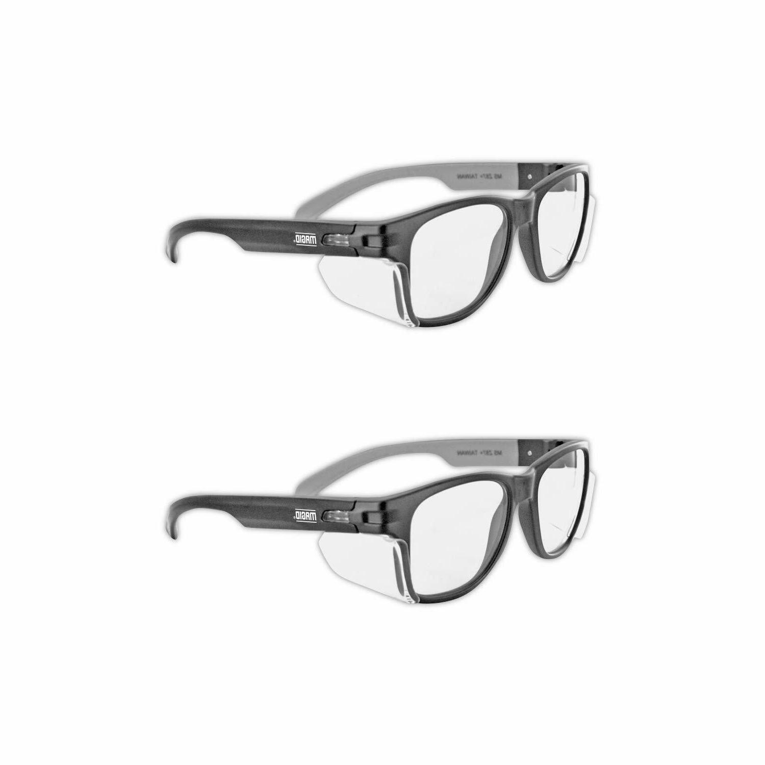 safety work glasses anti fog permanent side