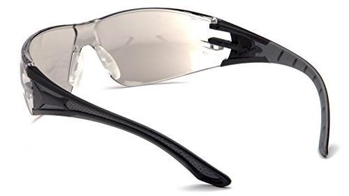 Pyramex Safety SBG9680S Endeavor Plus Safety Glasses, Grey Grey Indoor/Outdoor Mirror