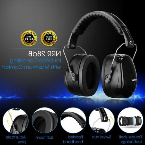 Mpow Shooting Ear Muffs Safety Protective Hearing Earmuffs /