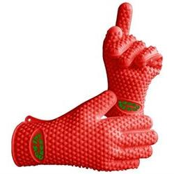 The Best Silicone Heat Resistant Grilling BBQ Glove Set - Gr