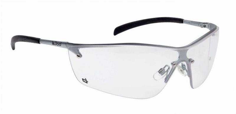 silium safety eyewear w silver metal tpe